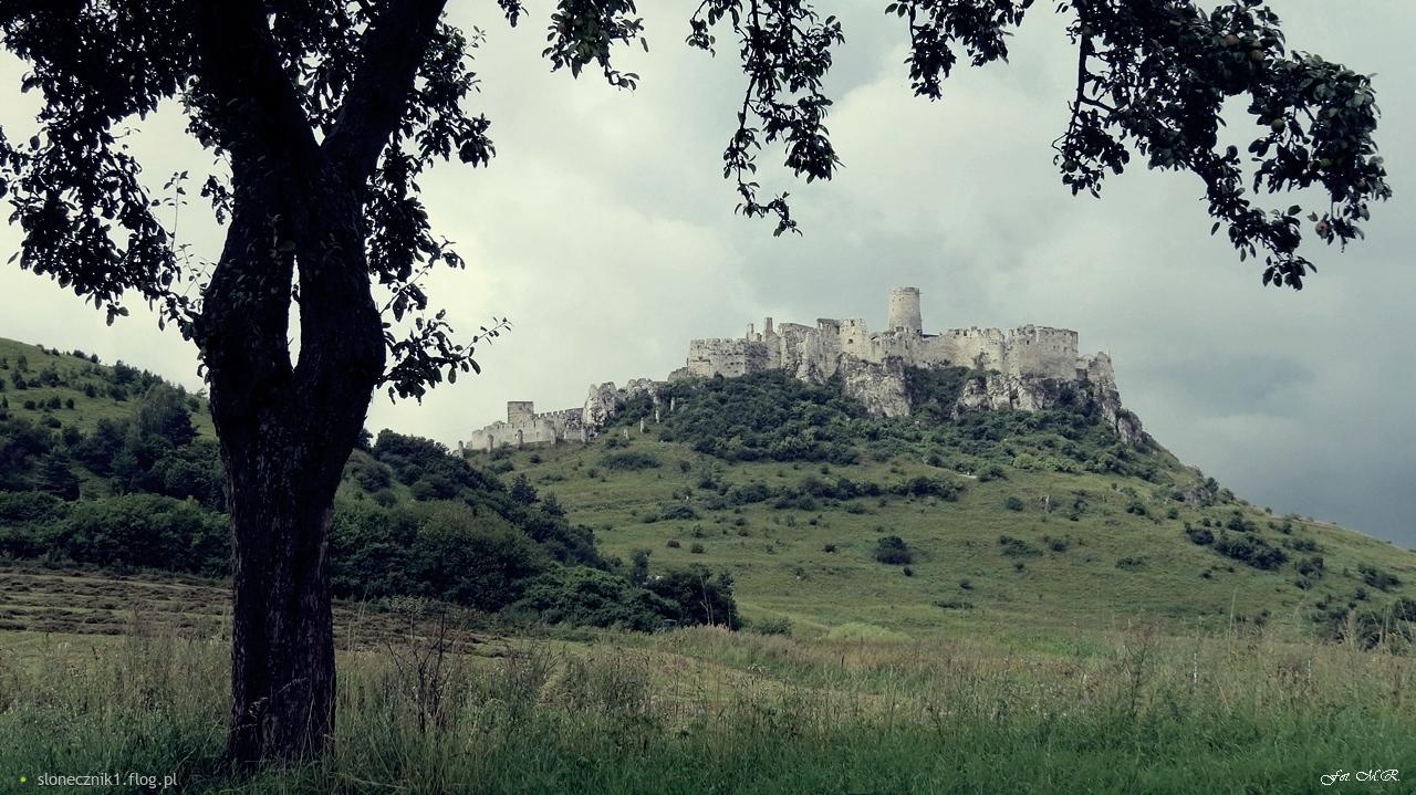 Po słowackiej stronie - Zamek Spiski