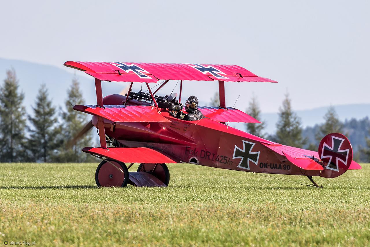 Fokker DR.1 Triplane /replica/