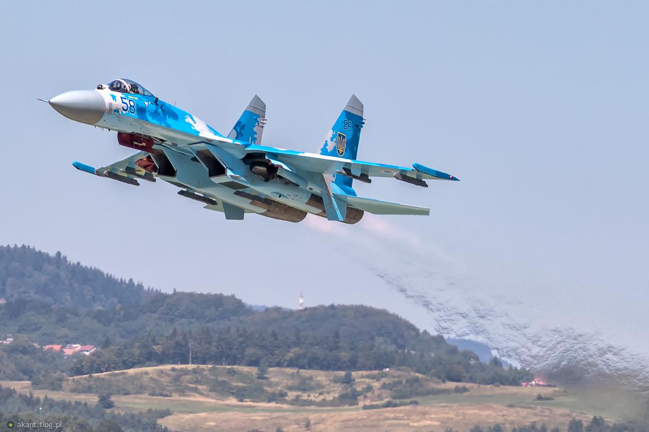 Su - 27 UAF w Sliac