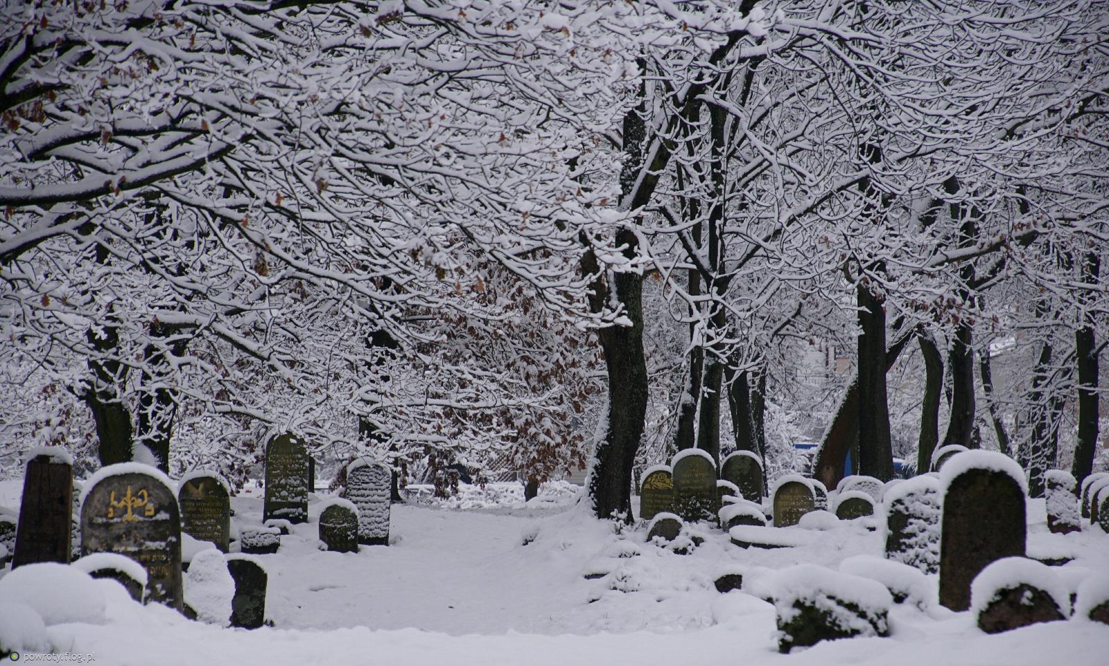 Białystok - cmentarz żydowski przy ulicy Wschodniej