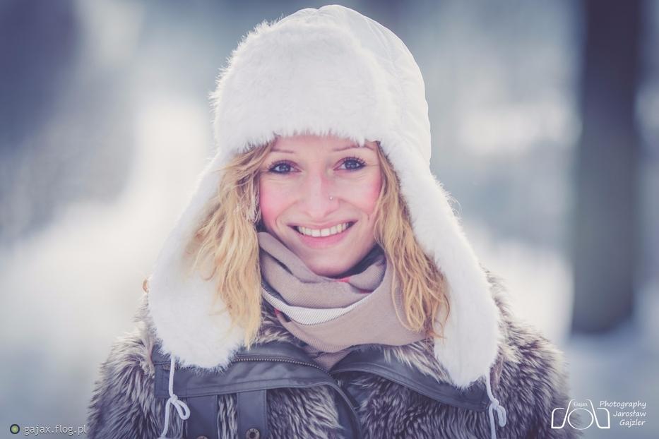 Z uśmiechem jej do twarzy :)