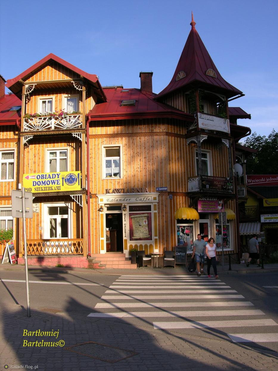 Szczawnica, Eglander Caffe, 21.07.2016.