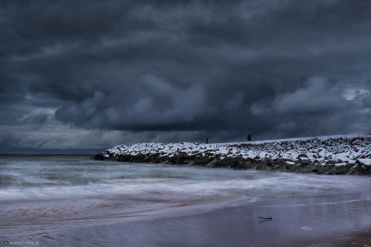 Uroki zimy nad Bałtykiem :-)