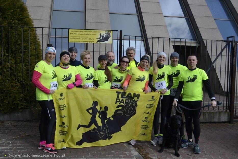 Tychy. Nasz Team Papry 20 przed XXVII Perłą Paprocan:)