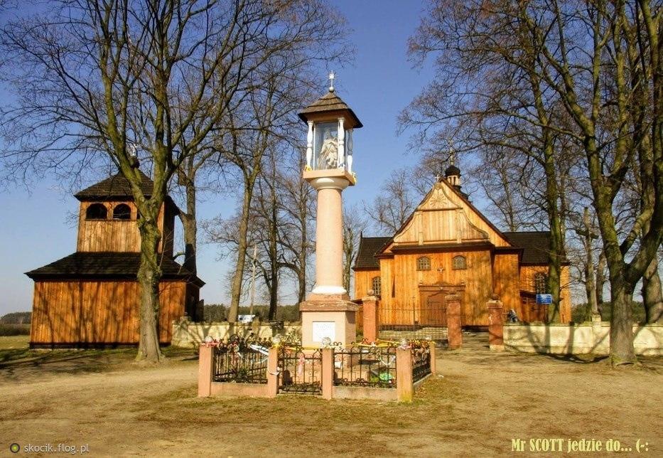 Kałów-kościół św.Mikołaja.