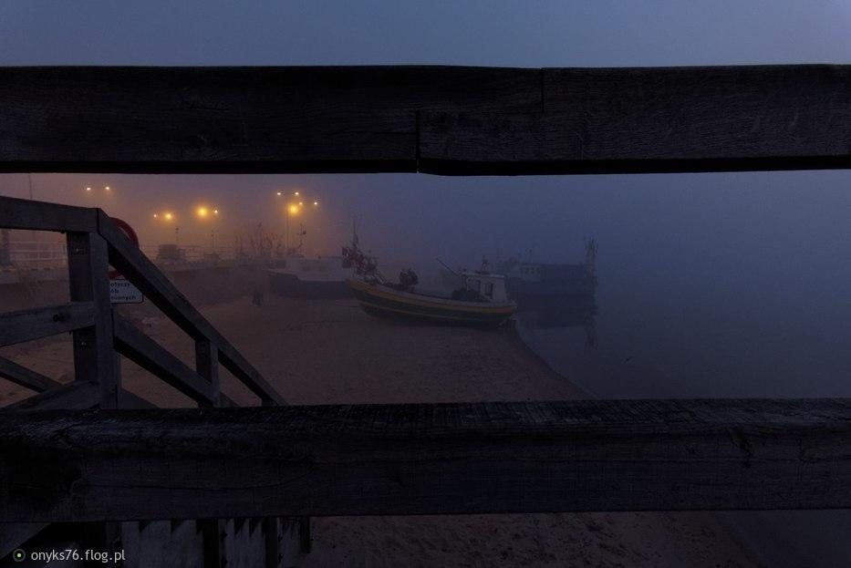 Mechelinki...w oczekiwaniu na wschód słońca....