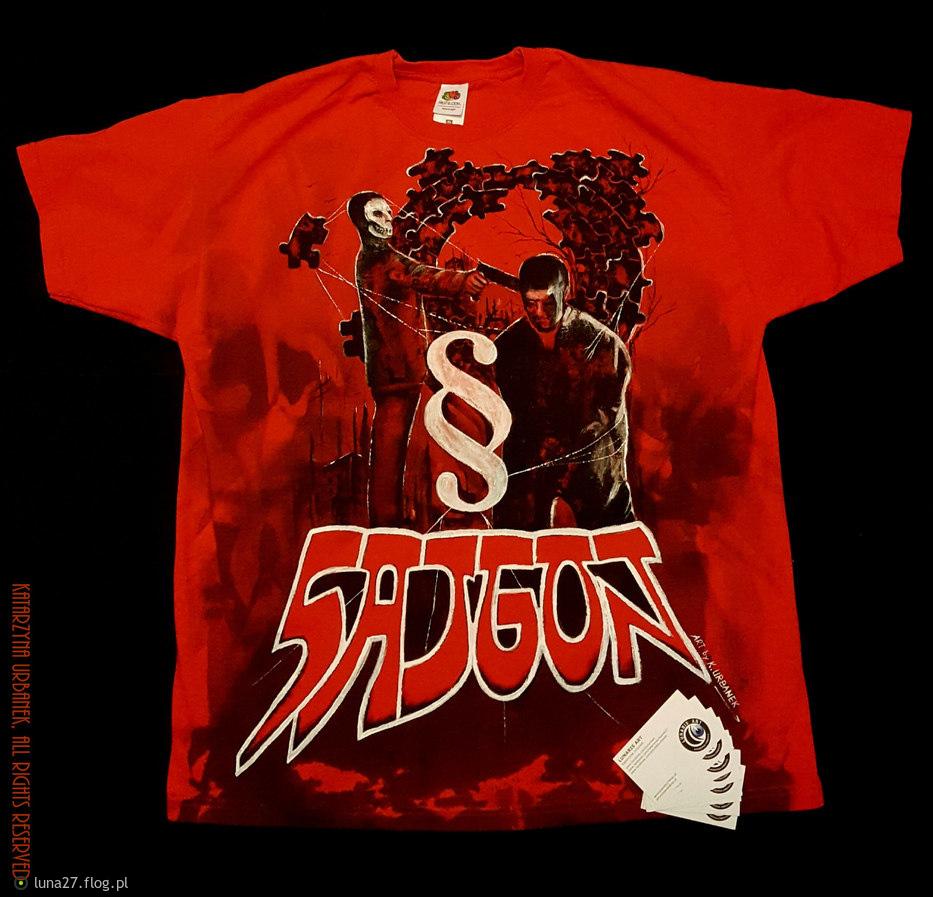 Skończona. :D Projekt specjalny koszulki SAJGON. Logo/ nazwa wykorzystane za zgodą w.wym. Katarzyna Urbanek, All rights reserved .