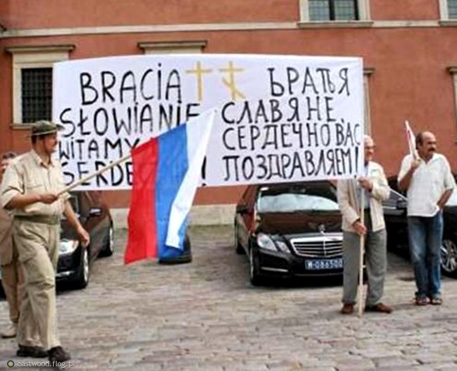 Pojednanie Słowian przed Zamkiem Królewskim w Warszawie.......ale czy to możliwe.?
