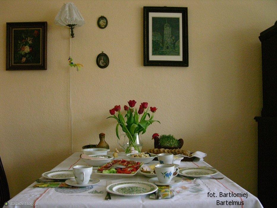 Wielkanocny Stół z II dnia Świąt, 17.04.2017