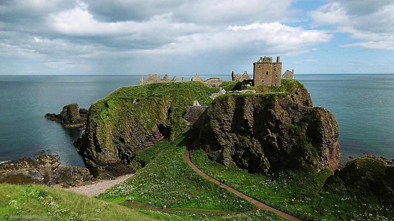 Szkocki klimat dla Ciebie - zamek Dunnottoar