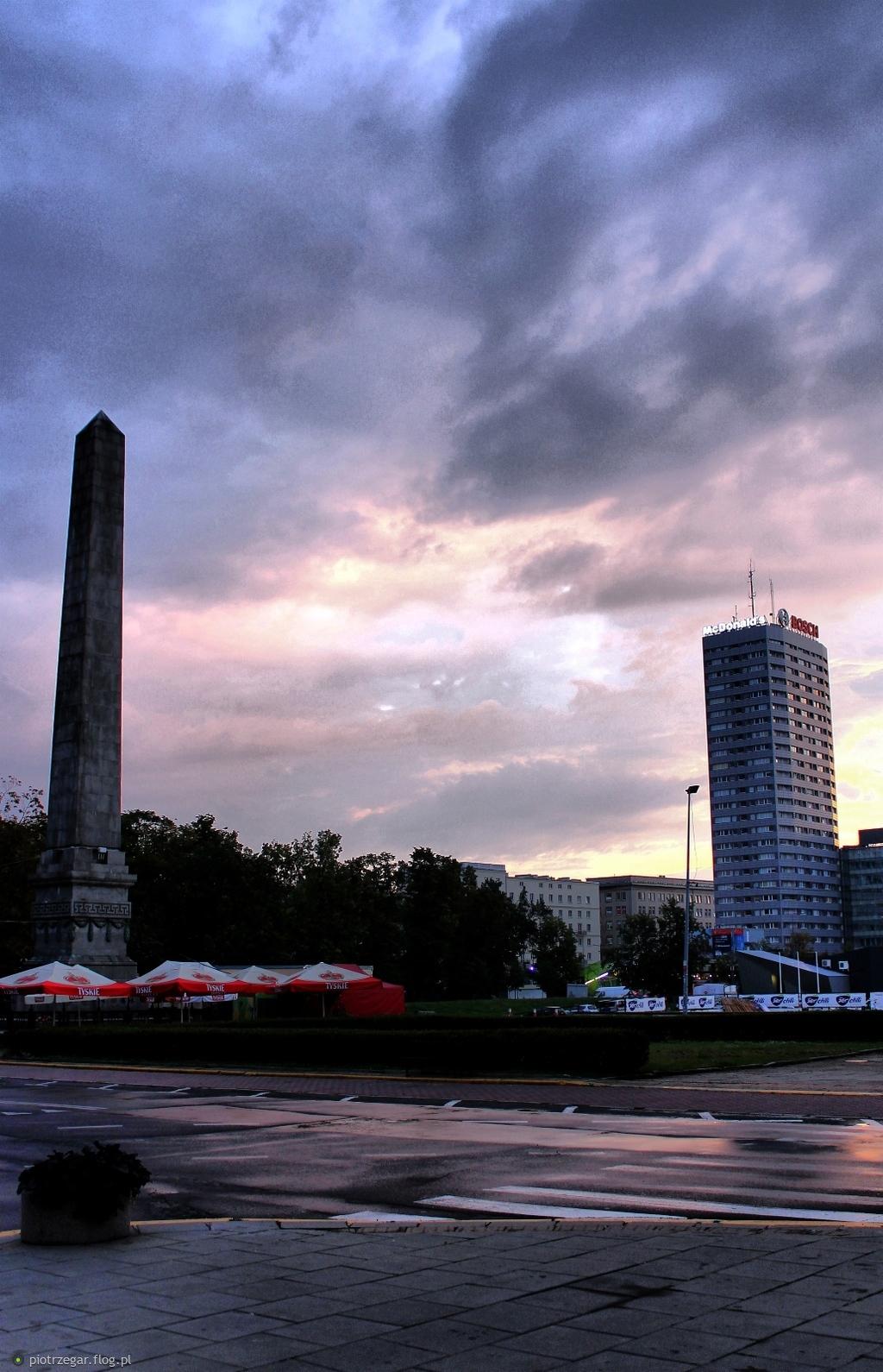Warszawa - Plac Defilad