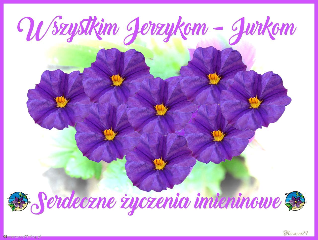 23 Kwietnia Imieniny Jerzego Wszystkim Jurkom