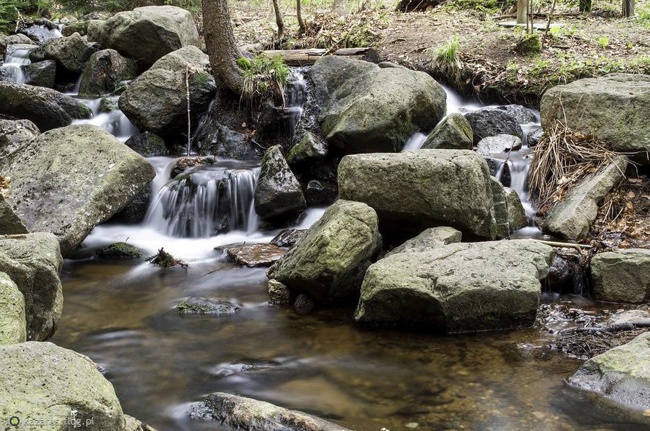 Potok w Rudawach Janowickich
