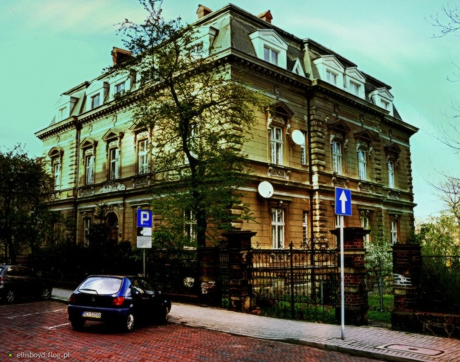 ulica Krasińskiego w Bielsku - Białej