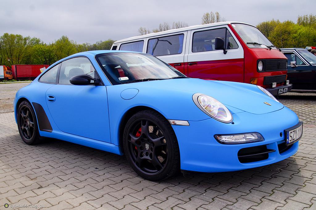 Porsche 911 Carrera S- niebieska piękność