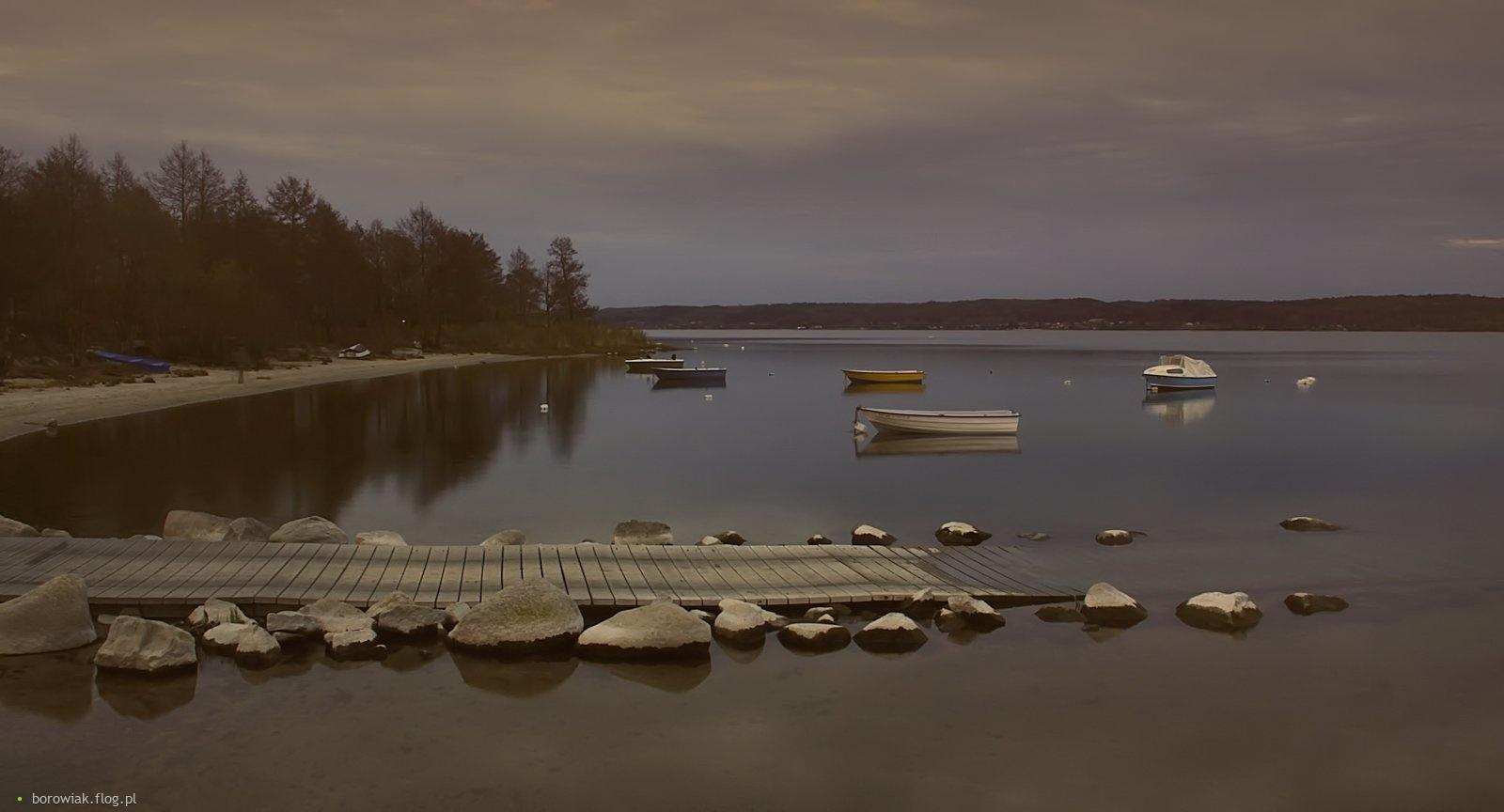 Jezioro Żarnowieckie...