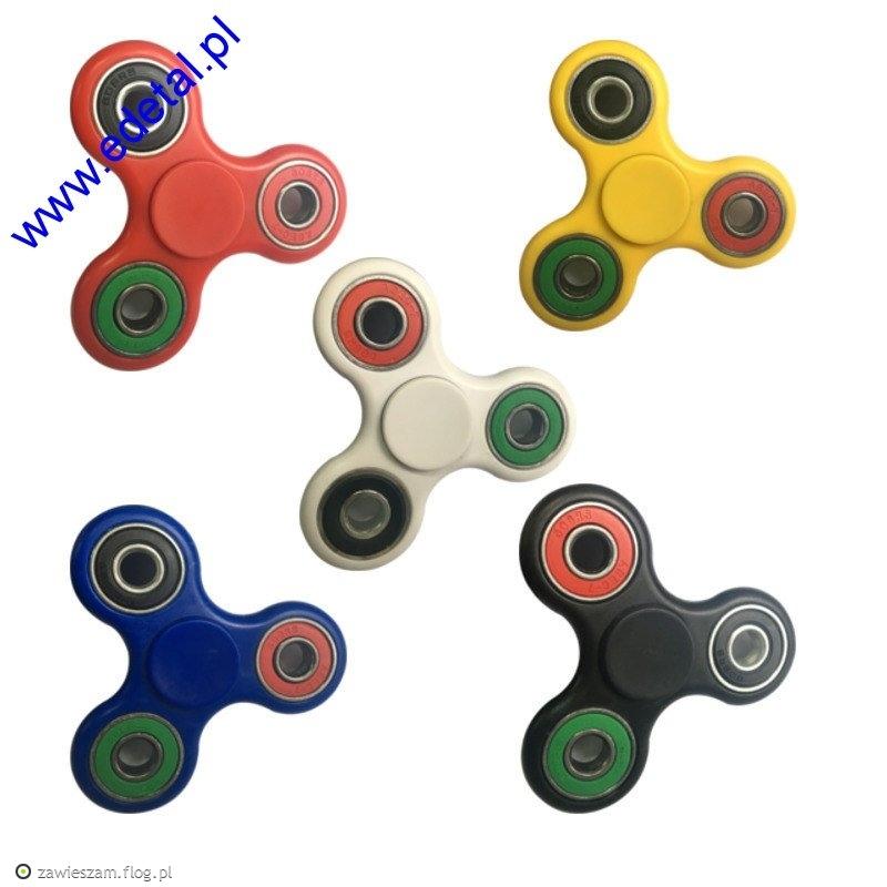 Spinnery w kolorach jak widać