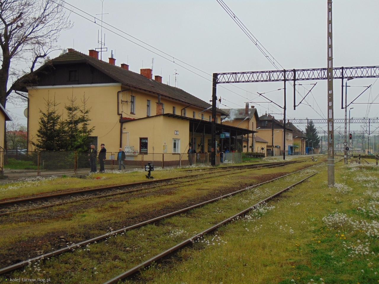 Dworzec kolejowy Gorlice Zagórzany
