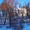 zimowa pocztówka z Hrubie<br />szowa :: Kościół św. Stanisława Ko<br />stki, Sanktuarium Matki B<br />ożej Sokalskiej i Klaszto<br />r OO. Bernardynów