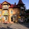 Szczawnica, Eglander Caff<br />e, 21.07.2016.  :: Znajdujący się przy skrzy<br />żowaniu ulic Główna i Zdr<br />ojowa lokal &quot;Eglande<br />r Caffe&quot; powsta