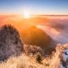 Trzy Korony w blasku wsch<br />odzącego słońca ::