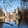Zamek w Kopicach!!!Odbici<br />e w wodzie!Dobrej nocki!