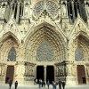 Katedra Notre-Dame w Reim<br />s Najświętszej Marii Pann<br />y w Reims, we Francji