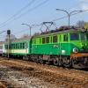 """EP07-442 :: 12 kwietnia 2014 - """"Kmicic"""" z Katowic do Warszawy odjeżdża z Sosnowca Głównego."""