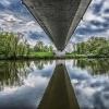 Pod mostem...Odra..