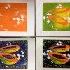 &quot;Papaja&quot; :: Linoryt - Reduction print<br />.