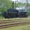 Ty42-107 :: Ty42-107 manewruje luzem <br />po stacji Gorlice Zagórza<br />ny.