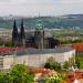 Katedra św.Wita,Widok na Hradczany
