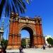 Łuk Triumfalny Barcelona.